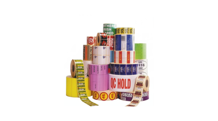 Colour Printed Stickers and Barcode Labels